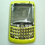 blackberry 8300 housing yellow